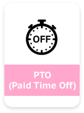 PTO(Paid Time Off)