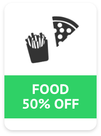 30% off any food